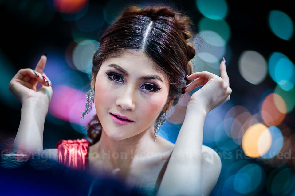 Portrait of Bangkok International Motor Show 2013 @ Bangkok, Thailand
