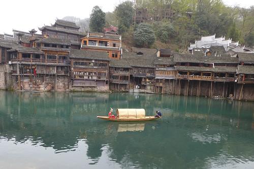Hunan13-Fenghuang-Ville-Rive Nord (38)