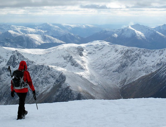 Climbing Ben Nevis in Winter - Flickr CC simonsimages