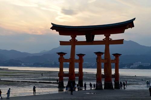 Giant Torii of Itsukushima Shrine