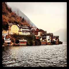 Somebody told me Hallstatt is the most beautiful village in Austria.