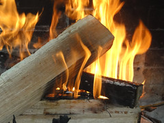 wood, fireplace, fire, flame,