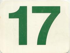 calendrier  17