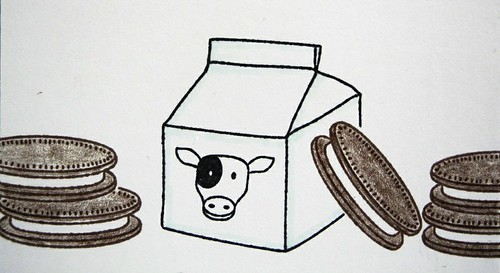 Milk & Cookies (detail)