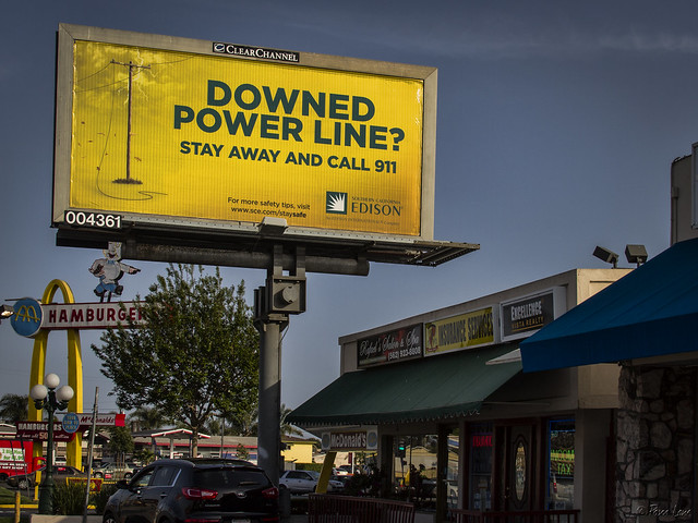Downey billboard