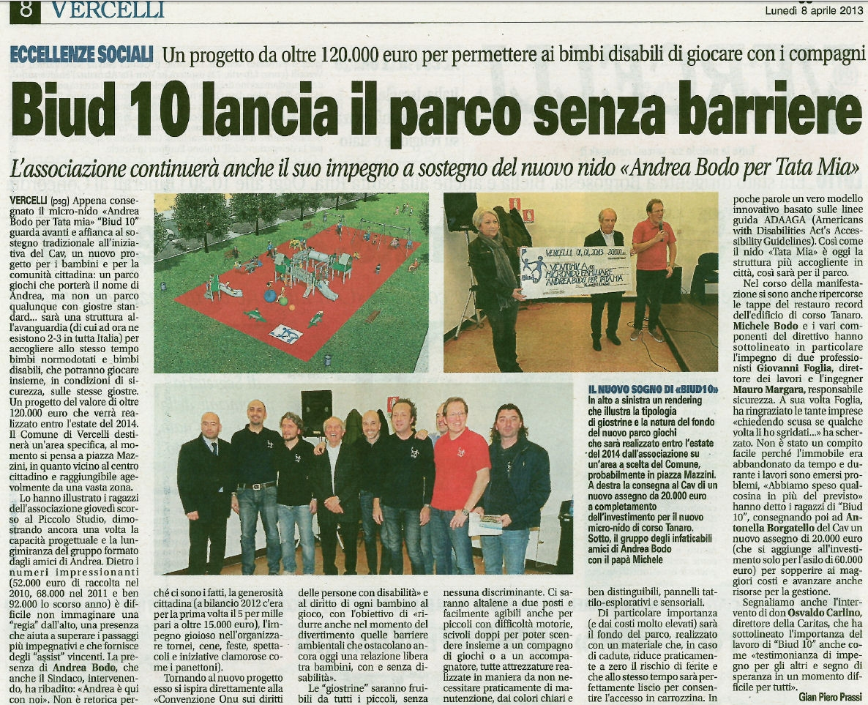 Notizia Oggi 08-04-2013