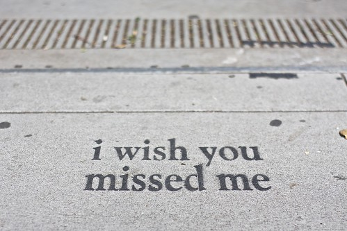 i wish you missed me, 24th street SF