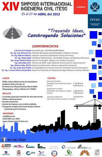 XIV Simposio Internacional de Ingeniería Civil by Aceros Murillo