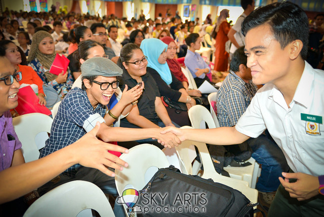 Oh My English Season Musim 2 OME Sekolah Wawasan Press Conference Aaron Aziz Lisa Surihani Zain Saidin Adibah Noor