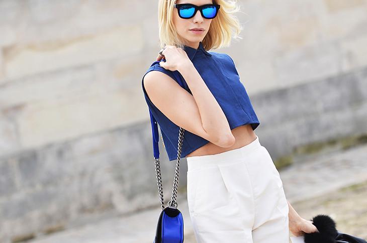 NobodyKnowsMarc.com Gianluca Senese elena perminova paris fashion week street style aujour le jour