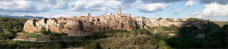 Ancient Sorano  town