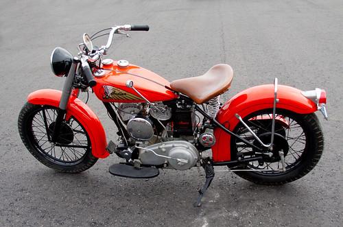 Indian Chief Vintage Motorcycle