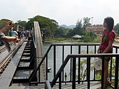 Kanchanaburi - The Bridge over the River Kwai