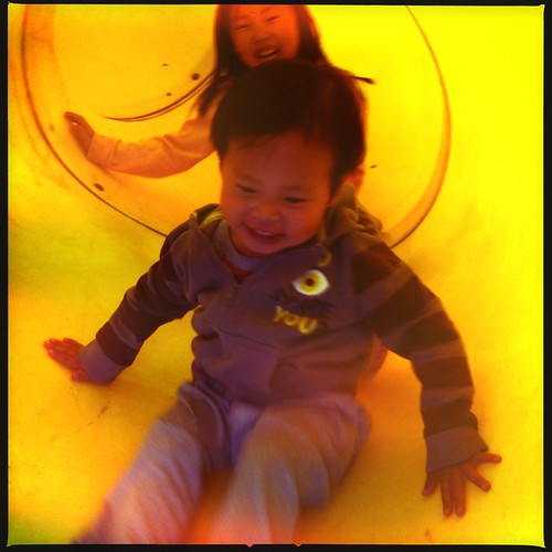 Super happy fun slide. by mliu92