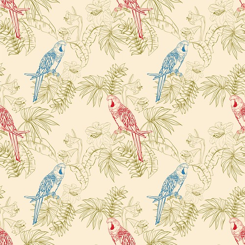 parrot in repeat