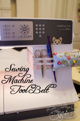 Sewing Machine Tool Belt Tutorial
