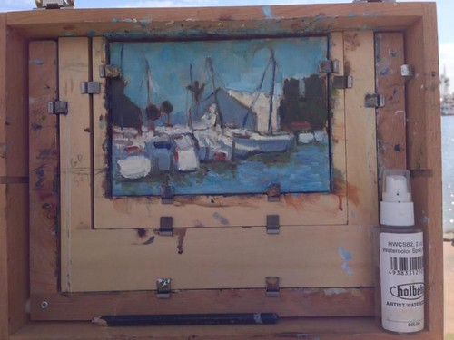 Plein Air in progress