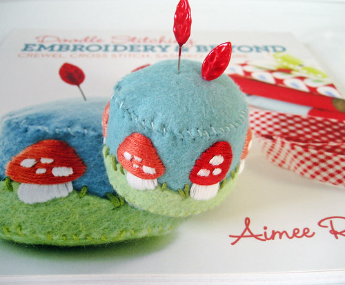 free stumpwork pincushion tutorial