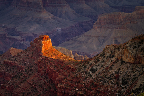 dawn - near Yaki Point - Grand Canyon - 3-31-13  01 - Explore!