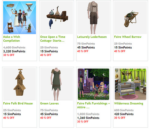 Sims 3 Sales Page Update
