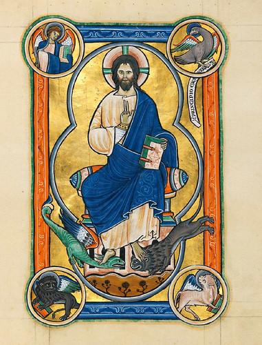 010-Salterio dorado de Múnich-1200-1225 d.C- Biblioteca Estatal de Baviera (BSB)
