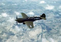 Curtiss P-40E, 41-5664 b