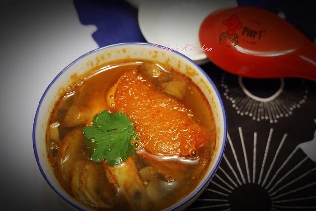 泰式冬陰酸辣湯 Thai Tom Yum Goong 4