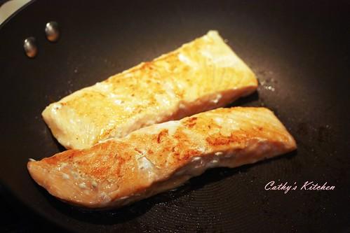 和風鮭魚拌飯 Japanese Salmon Rice 9