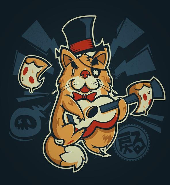 Music Cat Inkscape