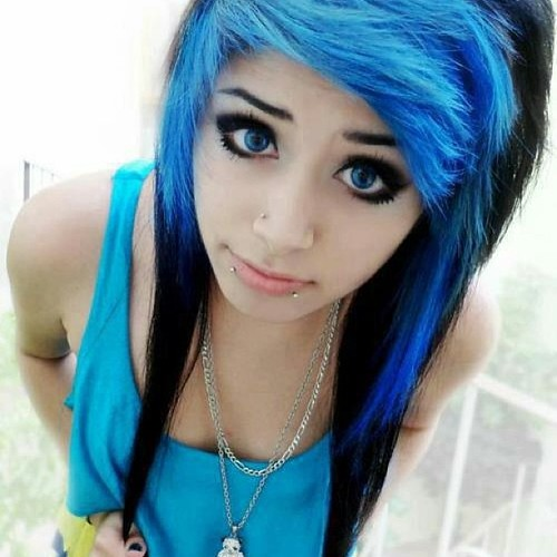 Brilliant 30 Stylish And Cool Emo Pictures Picpuddle Short Hairstyles For Black Women Fulllsitofus