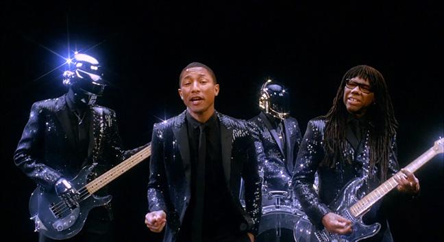 Daft Punk 'Get Lucky'