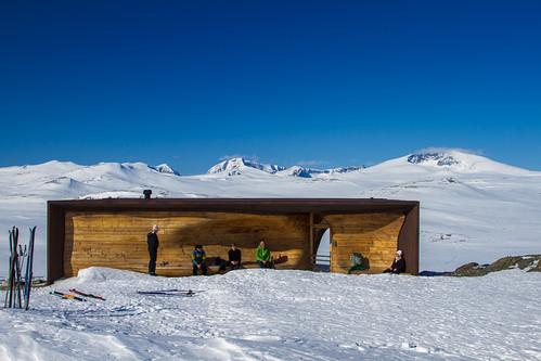 winter mountain norway architecture vinter view dovre nor utsikt fjell arkitektur dovrefjell landskap snøhetta oppland