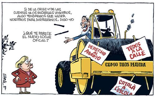Viñeta de Manel Fontdevila publicada en Eldiario.es el 1 de agosto e 2012