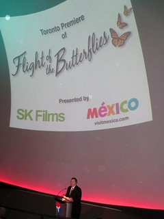 """Proyección """"El vuelo de las Mariposas"""" en Toronto"""
