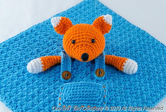 Fox Security Blanket Crochet Pattern Flickr - Photo Sharing!