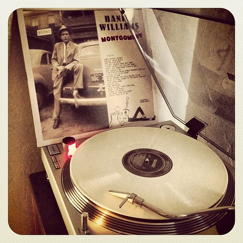 #hankwilliams #howtostartrsdright #whitevinyl #montgomery #vinyligclub #nowspinning #photographicplaylist #vinyloftheday by Big Gay Dragon