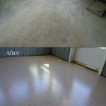Epoxy Chip Coating Ft Wayne IN-Bryan OH-Before & After