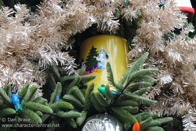 The Buena Vista Street Christmas Tree