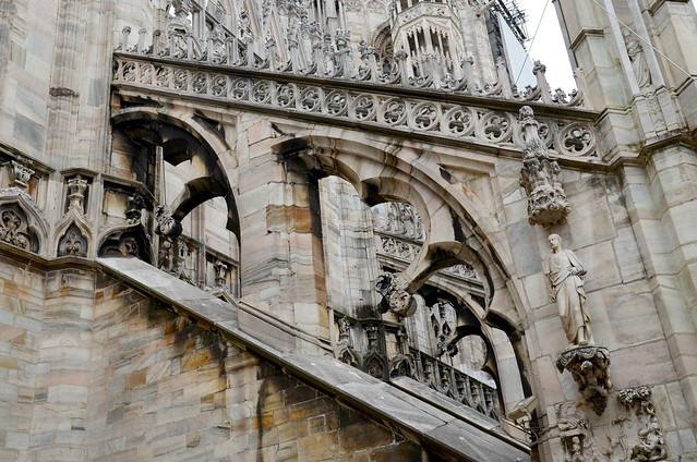 Duomo di Milano - flying buttresses