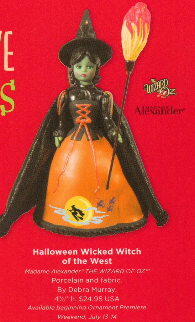 2013 Hallmark Halloween Wicked Witch of the West Madame Alexander