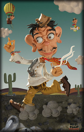 Cantinflas by alter eddie