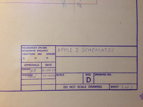 Apple ][ Schematic