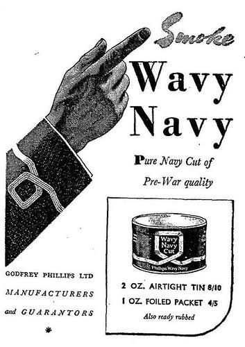 Wavy Navy Tobacco (1950)