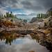 Shamrock Lake, Late Fall Snow, #7 by andertho