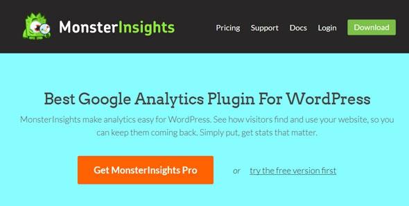 MonsterInsights Pro v6.2.0 - Google Analytics Plugin