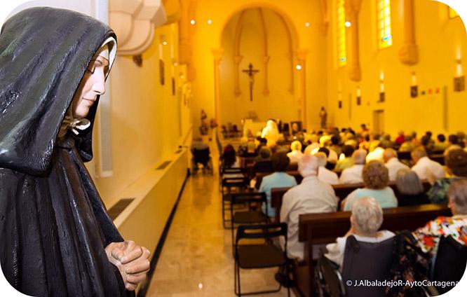 Las Hermanitas de los Pobres celebran la festividad de su fundadora