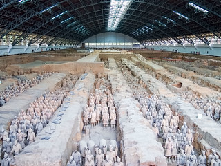 Terracotta Warriors 의 이미지.