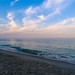 Beach at Sunset by laurenspies