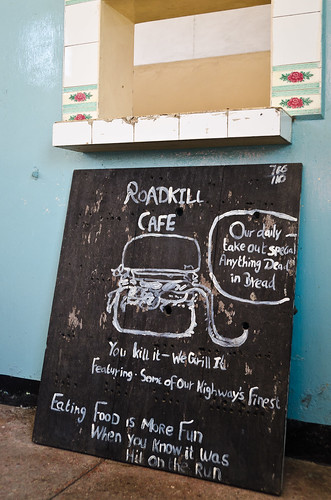 Roadkill Cafe!