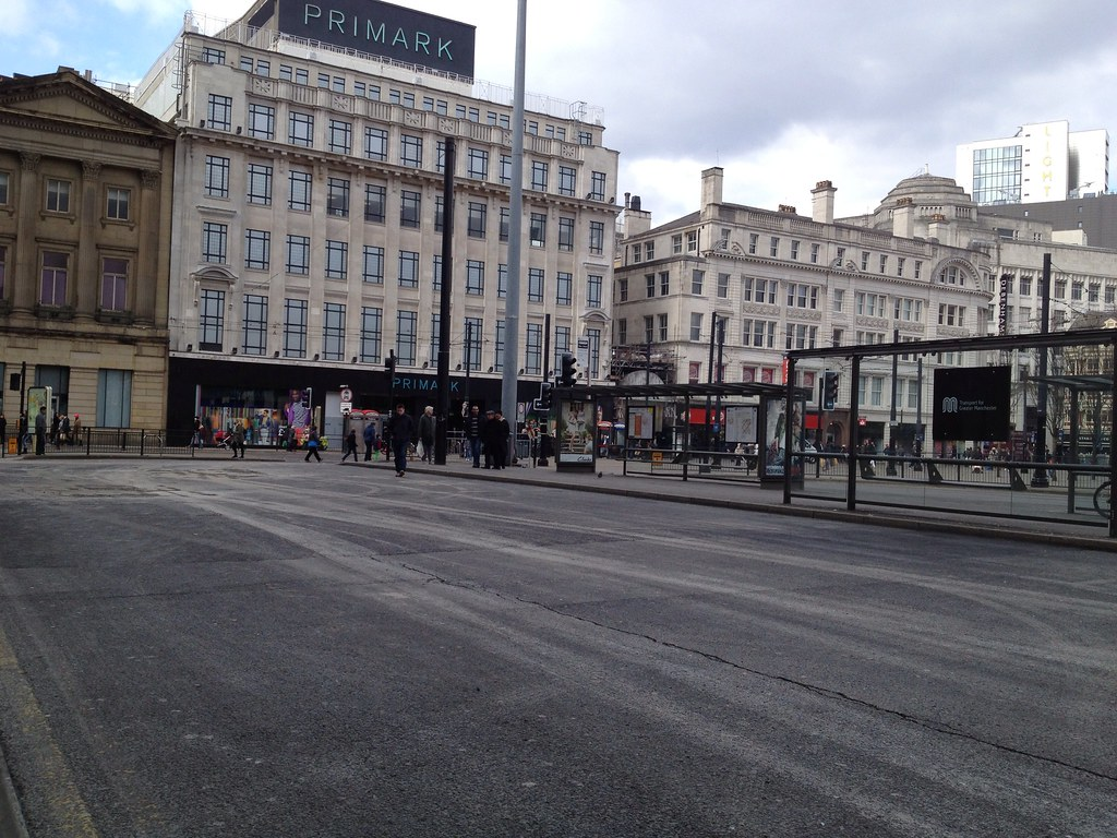 Piccadilly Gardens Bus Station (Parker Street) Manchester